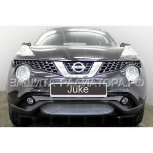 защита радиатора оптимал Ниссан Жук (Nissan Juke) I рестайлинг 2014-2019 г.в.