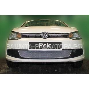защита радиатора оптимал Фольксваген Поло (Volkswagen Polo) V 2010-2015 г.в.