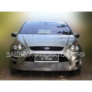 защита радиатора оптимал Форд С-Макс (Ford S-Max I) рестайлинг 2010-2015 г.в.