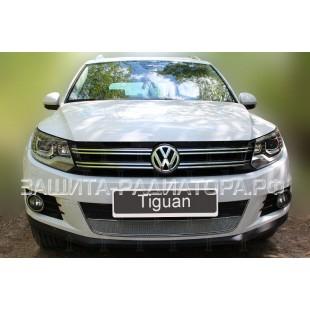 защита радиатора оптимал Фольксваген Тигуан (Volkswagen Tiguan) I рестайлинг 2011-2016 г.в.