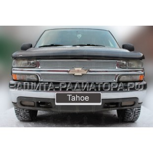 защита радиатора премиум Шевроле Тахо (Chevrolet Tahoe) II 1999-2007г.в.