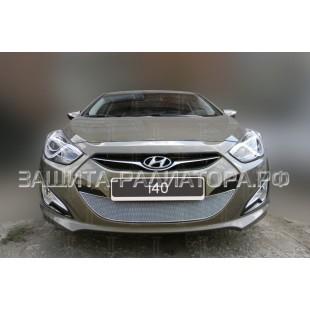 защита радиатора премиум Хендай Ай 40 (Hyundai I40) I 2011-2015 г.в.