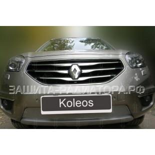 защита радиатора премиум Рено Колеос (Renault Koleos) I рестайлинг-2 2013-2016 г.в.