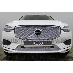 защита радиатора премиум Вольво (Volvo) XC60 II с парктроником 2017-2020 г.в.