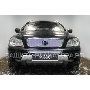 защита радиатора премиум Вольво (Volvo) XC90 (I рестайлинг) 2009-2014 г.в.