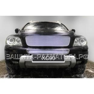защита радиатора премиум Вольво (Volvo) XC90 (I рестайлинг) 2009-2014 г.в. вместо штатной