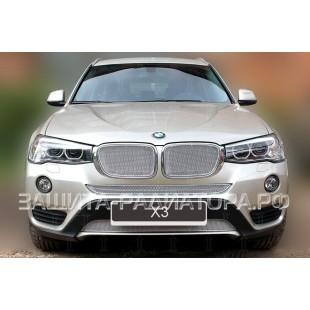 защита радиатора премиум БМВ (BMW) X3 II рестайлинг (F25) 2014-2018 г.в.