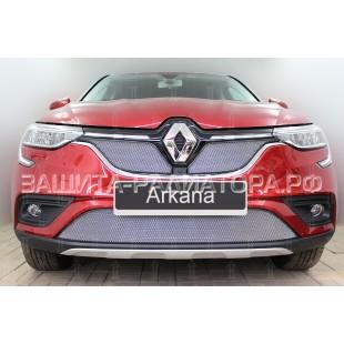защита радиатора Рено Аркана (Renault Arkana) 2018-2020