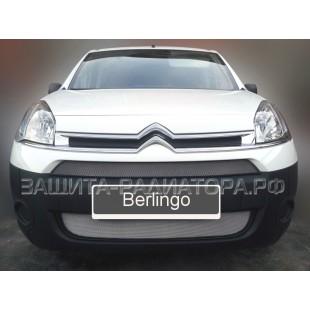 защита радиатора Ситроен Берлинго (Citroen Berlingo) II рестайлинг 2012-2015 г.в.