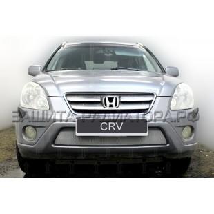 защита радиатора Хонда СРВ (Honda CR-V) II рестайлинг 2004-2007 г.в.