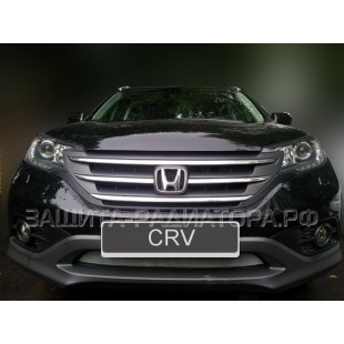 защита радиатора Хонда СРВ (Honda CR-V) IV 2.0 2012-2015 г.в.