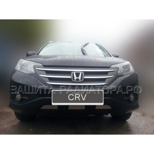 защита радиатора Хонда СРВ (Honda CR-V) IV 2.4 2012-2015 г.в.
