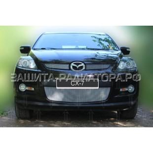 защита радиатора Мазда СХ-7 (Mazda CX-7) I 2006-2010 г.в.
