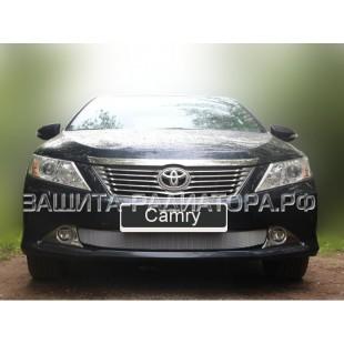 защита радиатора Тойота Камри (Toyota Camry) VII (XV-50) 2011-2014 г.в.