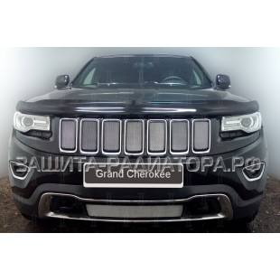 защита радиатора Джип Гранд Чероки (Jeep Grand Cherokee) IV (WK2) рестайлинг 1 2013-2018 г.в.