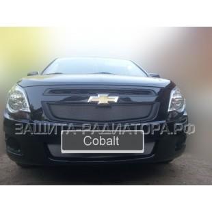 защита радиатора Шевроле Кобальт (Chevrolet Cobalt) II 2013-2018 г.в.