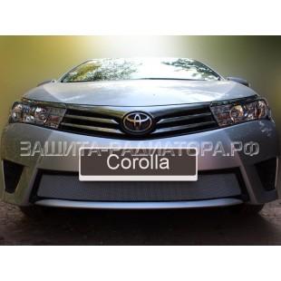 защита радиатора Тойота Королла (Toyota Corolla) XI (E160, E170) 2012-2016 г.в.