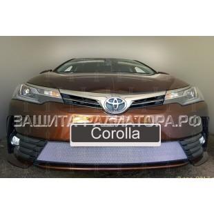защита радиатора Тойота Королла (Toyota Corolla) XI рестайлинг 2015-2020 г.в.