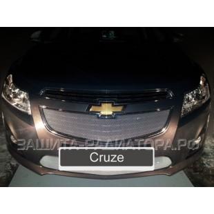 защита радиатора Шевроле Круз (Chevrolet Cruze) I рестайлинг 2013-2015 г.в