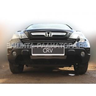 защита радиатора Хонда СРВ (Honda CR-V) III 2007-2010
