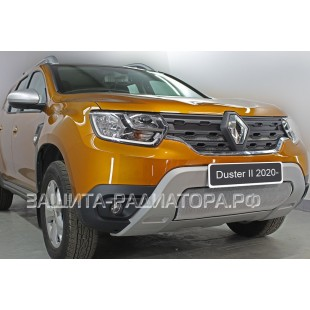 защита радиатора Рено Дастер 2 (Renault Duster) II 2020-