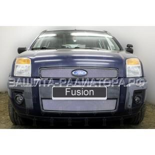 защита радиатора Форд Фьюжн (Ford Fusion) I рестайлинг 2005-2012 г.в.