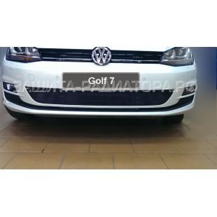 защита радиатора  Фольксваген Гольф 7 (Volkswagen Golf VII) 2013-2017 г.в.