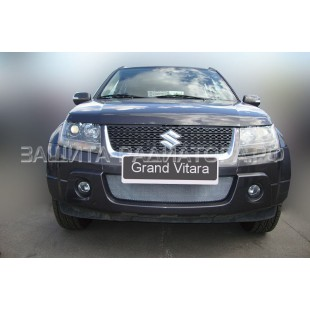 защита радиатора Сузуки Гранд Витара (Suzuki Grand Vitara) III рестайлинг 2008-2012 г.в.