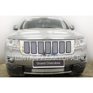 защита радиатора Джип Гранд Чероки (Jeep Grand Cherokee) IV (WK2) 2010-2013 г.в.