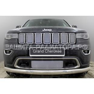 защита радиатора Джип Гранд Чероки (Jeep Grand Cherokee) IV (WK2) рестайлинг 2 2018-2020 г.в.