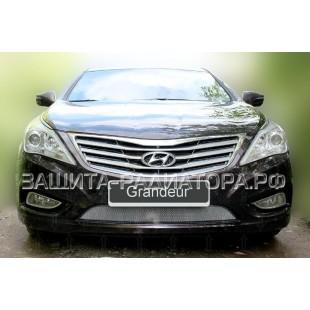 защита радиатора Хендай Грандер  (Hyundai Grandeur) V 2011-2016 г.в.