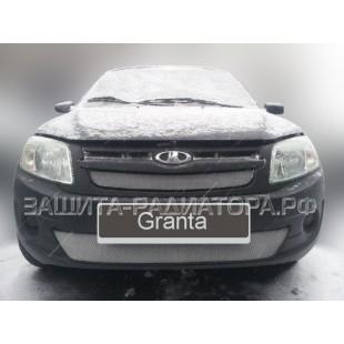 защита радиатора Лада Гранта (Lada Granta) 2011-2014