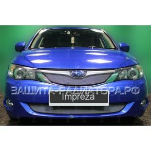 защита радиатора Субару Импреза 3 (Subaru Impreza III) 2007-2011 г.в.