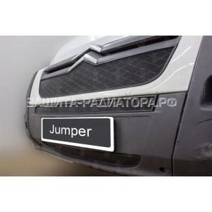 защита радиатора Ситроен Джампер (Citroen Jumper) 2006-2014