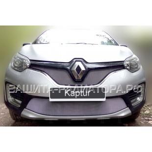 защита радиатора Рено Каптур (Renault Kaptur) 2016-2020 г.в.