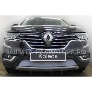защита радиатора Рено Колеос (Renault Koleos) II 2016-2019 г.в.
