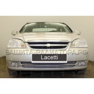 защита радиатора Шевроле Лачетти (Chevrolet Lacetti) седан универсал 2004-2013 г.в.
