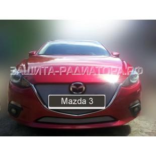 защита радиатора Мазда 3 (Mazda 3) III 2013-2016 г.в.