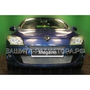 защита радиатора Рено Меган 3 (Renault Megane III) 2009-2012 г.в.