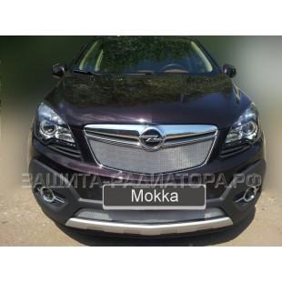 защита радиатора Опель Мокка (Opel  Mokka) 2012-2016 г.в.