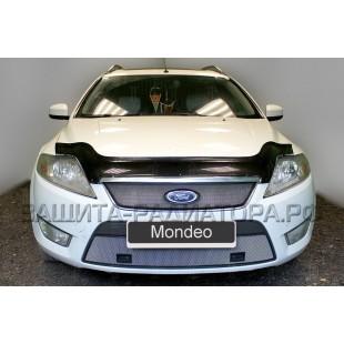 защита радиатора Форд Мондео (Ford Mondeo) IV 2007-2010 г.в. с парктроником