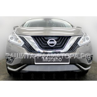защита радиатора Ниссан Мурано (Nissan Murano) III 2014-2018 г.в.