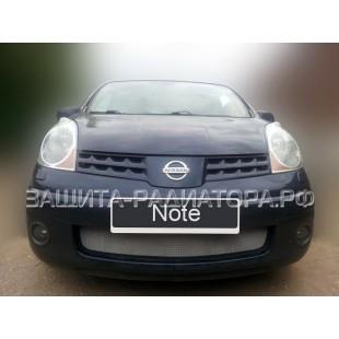 защита радиатора Ниссан Ноут (Nissan Note) I 2005-2009 г.в.