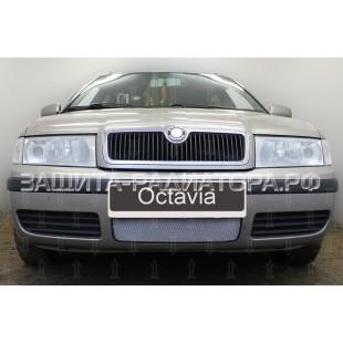 защита радиатора Шкода Октавия (Skoda Octavia) I рестайлинг 2000-2010 г.в.