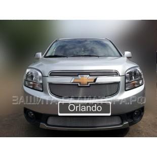 защита радиатора Шевроле Орландо (Chevrolet Orlando) 2011-2015 г.в.