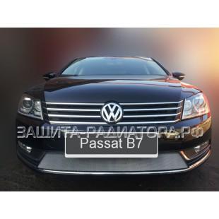 защита радиатора Фольксваген Пассат Б7 (Volkswagen Passat B7) 2011-2015 г.в.