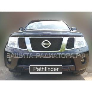 защита радиатора Ниссан Патфайндер (Nissan Pathfinder) III рестайлинг 2010-2014 г.в.