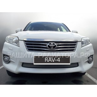защита радиатора Тойота Рав 4 (Toyota Rav 4) III рестайлинг 2010-2013 г.в.