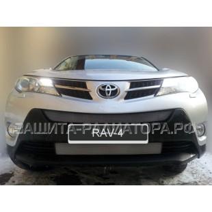 защита радиатора Тойота Рав 4 (Toyota Rav 4) IV 2013-2015 г.в. Комфорт, Элеганс, Престиж