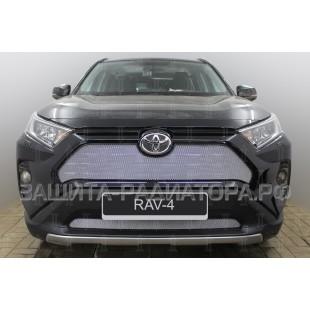 защита радиатора Тойота Рав 4 (Toyota Rav 4) V 2019-2020 г.в.